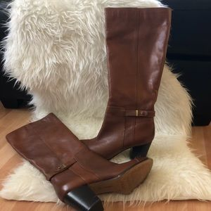 Giani Bernini Ellee cognac Boots